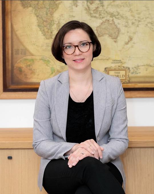 Uliana Korchevskaya Deligiorgis